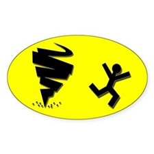 (10 pack) TORNADO CHASING?? Bumper Decal