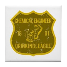 Chemical Engineer Drinking League Tile Coaster