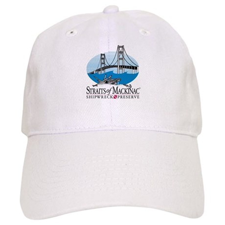 Mackinac Bridge logo Ball Cap
