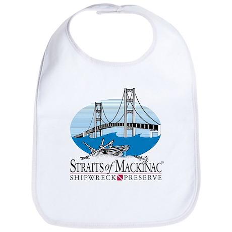 Mackinac Bridge logo Bib