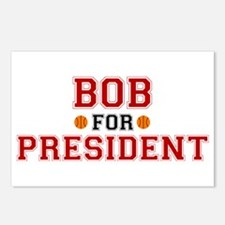 Bob for President Postcards (Package of 8)