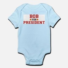 Bob for President Infant Creeper