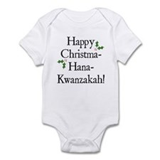 Happy Holiday Greeting Onesie