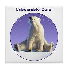 Unbearably Cute! Tile Coaster