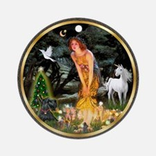 MidXmasEve /Scotty #12 Ornament (Round)