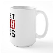 I Support Huggins Mug