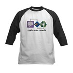 Cogito Ergo Recycle Kids Baseball Jersey