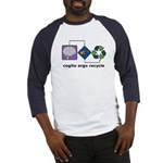 Cogito Ergo Recycle Baseball Jersey