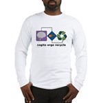 Cogito Ergo Recycle Long Sleeve T-Shirt