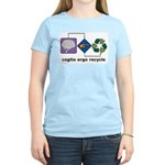 Cogito Ergo Recycle Women's Light T-Shirt