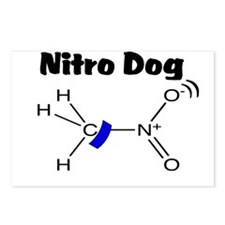 Nitro Dog Postcards (Package of 8)