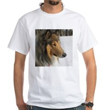Collie Winter Portrait Shirt