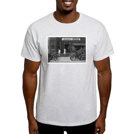 Old Bicycle Rental Shop Light T-Shirt
