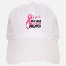 I'm a Breast Cancer Survivor Baseball Baseball Cap