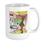 Reindeer Drug Tests Large Mug