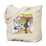Reindeer Drug Tests Tote Bag