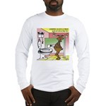 Reindeer Drug Tests Long Sleeve T-Shirt
