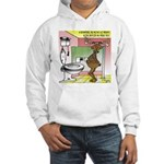 Reindeer Drug Tests Hooded Sweatshirt