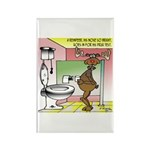 Reindeer Drug Tests Rectangle Magnet (10 pack)