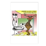 Reindeer Drug Tests Postcards (Package of 8)