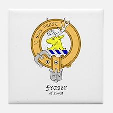 Fraser of Lovet Tile Coaster