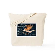 Vintage Bicycle Diva Tote Bag