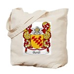 Bardi Family Crest Tote Bag
