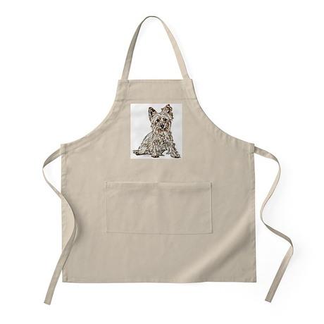 Silky Terrier (sketch) BBQ Apron