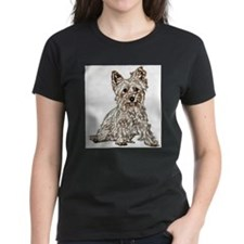 Silky Terrier (sketch) Tee