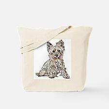 Silky Terrier (sketch) Tote Bag