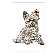 Silky Terrier (sketch) Postcards (Package of 8)