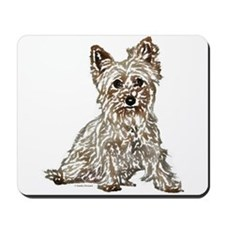 Silky Terrier (sketch) Mousepad