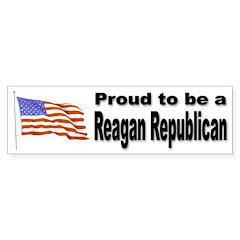Proud Republican Bumper Sticker for Republicans