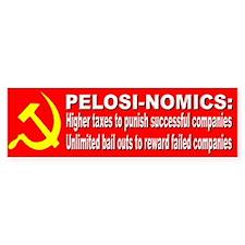 Pelosi Government Bail Outs Bumper Bumper Sticker