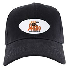 Never Knew A Hero 2 ORANGE (Father) Baseball Cap