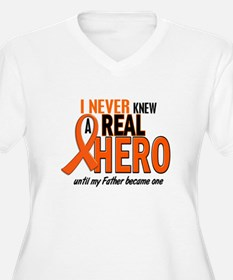 Never Knew A Hero 2 ORANGE (Father) T-Shirt