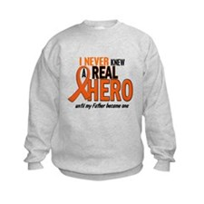 Never Knew A Hero 2 ORANGE (Father) Sweatshirt