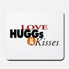Love Huggs and Kisses Mousepad