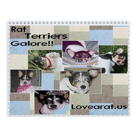 Rat Terriers Galore Calendar