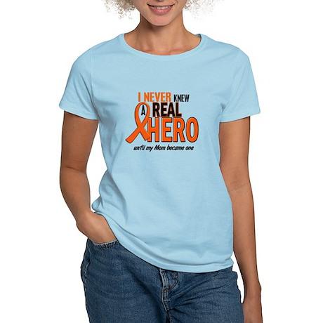 Never Knew A Hero 2 ORANGE (Mom) Women's Light T-S