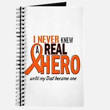 Never Knew A Hero 2 ORANGE (Dad) Journal