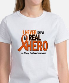 Never Knew A Hero 2 ORANGE (Dad) Women's T-Shirt