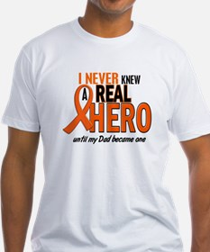 Never Knew A Hero 2 ORANGE (Dad) Shirt