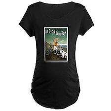 Bicycle Girl & Dog T-Shirt
