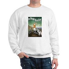 Bicycle Girl & Dog Sweatshirt