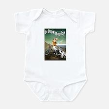 Bicycle Girl & Dog Infant Bodysuit