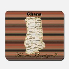 Ghana I remember Mousepad