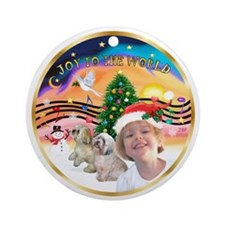 XmasMusic2 / Molly CUSTOM ORNAMENT