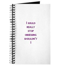 stop obsessing Journal