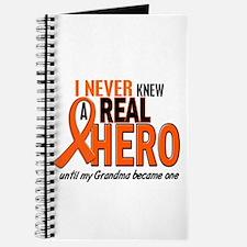 Never Knew A Hero 2 ORANGE (Grandma) Journal